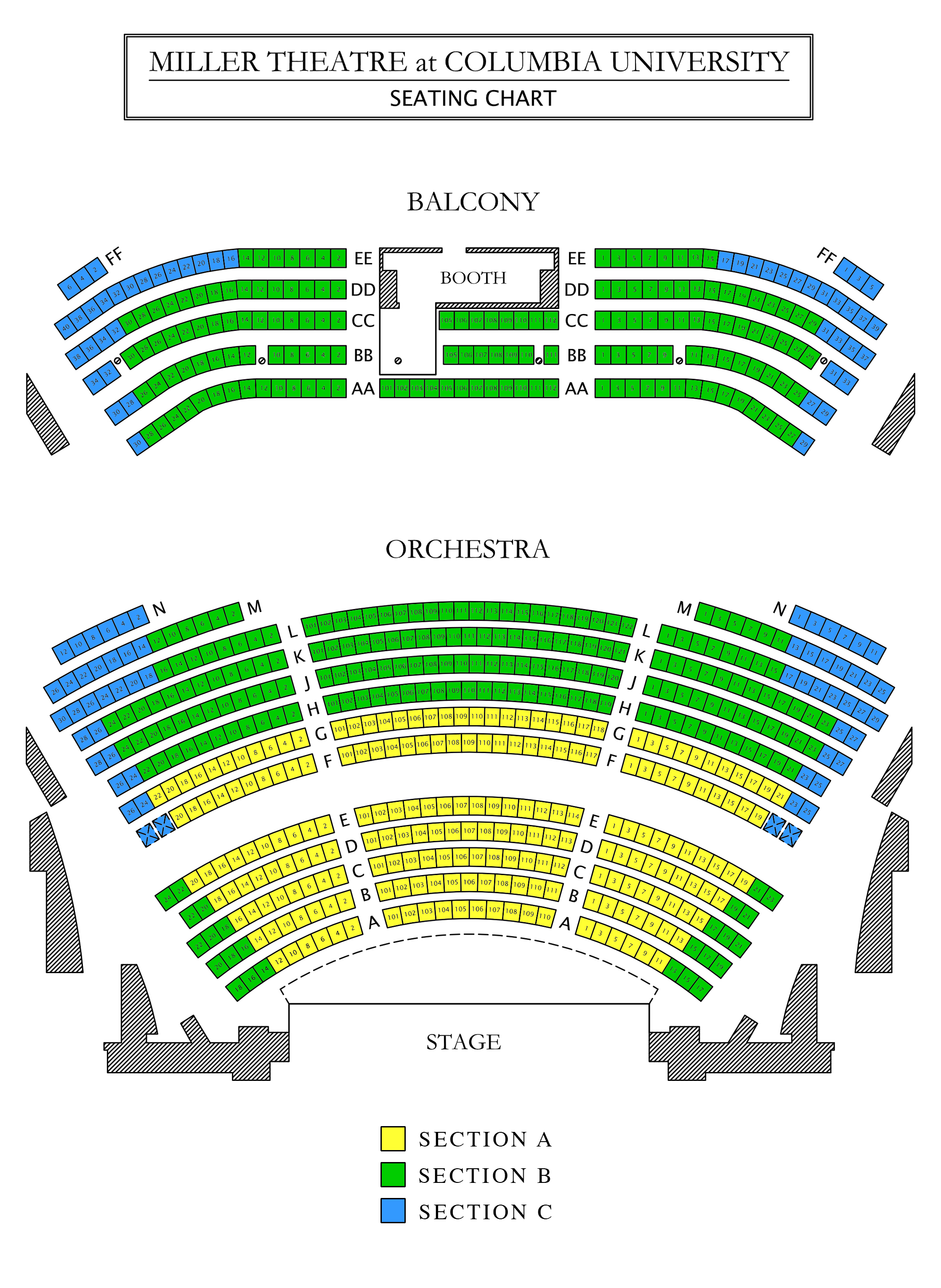Venue Seating Maps