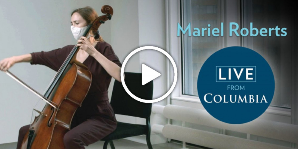 Live from Columbia: Mariel Roberts